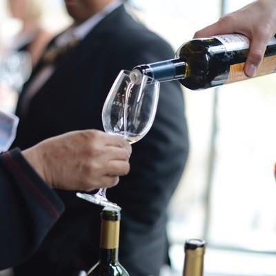 Carousel roman wine tasting