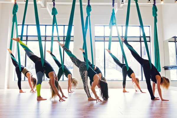 Yoga Workshop Classes Chicago Aerial Yoga Dabble
