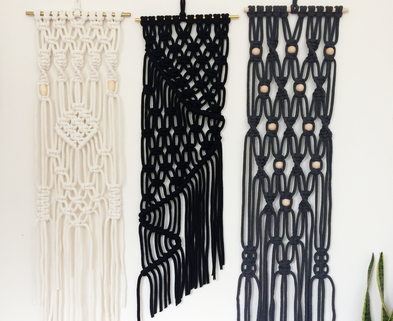 Medium large macrame