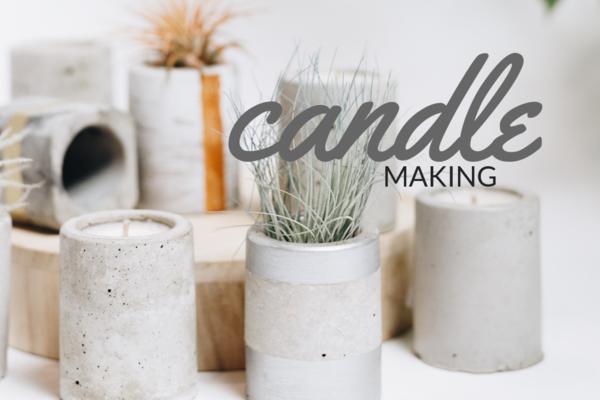 Carousel jar candle making