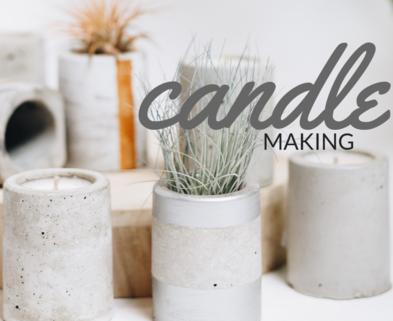 Medium jar candle making