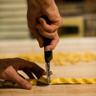 Carousel pasta making