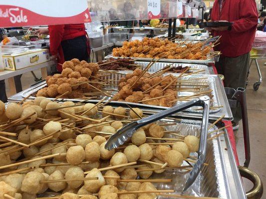 Carousel street food