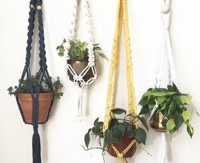 Medium macrame photo for kit