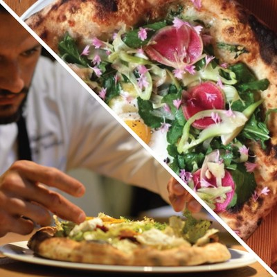 Carousel pizza   ravioli