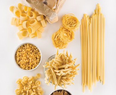 Medium dried pasta 101