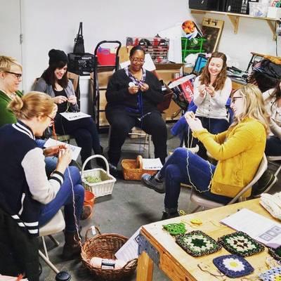 Carousel crochet class