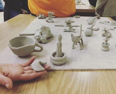 Medium clay 101 gnarware