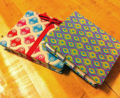Medium handmade journals book