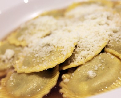 Medium pumpkin ravioli