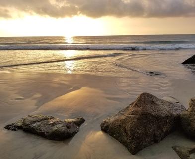 Medium mexico beach sunset