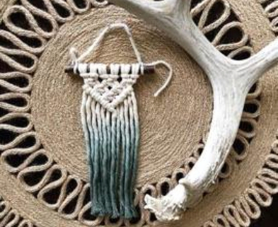 Medium macrame ornaments