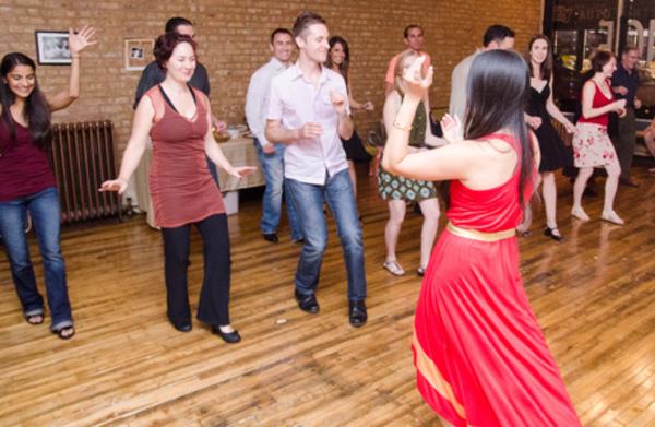 Carousel cha cha dance class