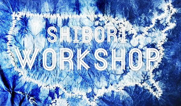 Carousel shibori workshop