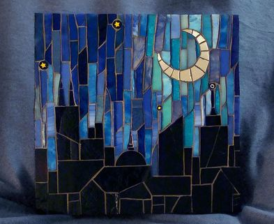 Medium mosaic skyline