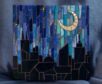 Medium mosaic skyline