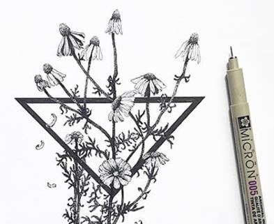 Medium micron pen illustratoin rachelle stetman dabble classes