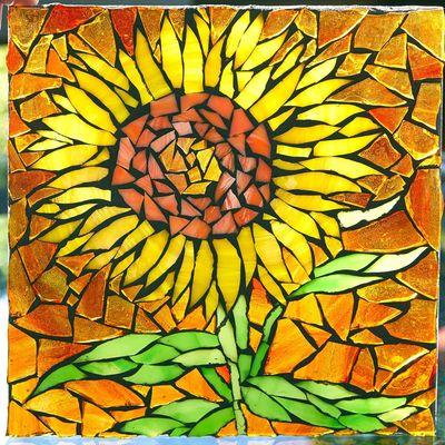 Carousel done sunflower