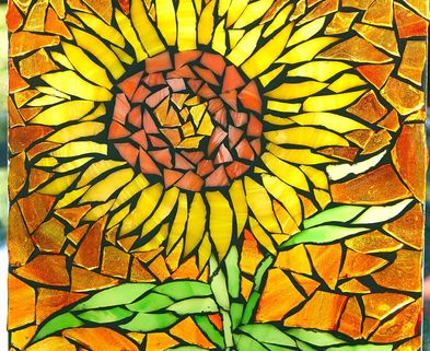 Medium done sunflower