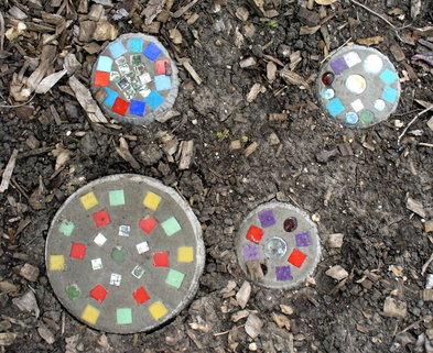 Medium mosaic tiles