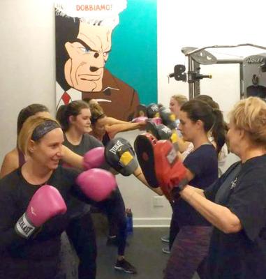 Carousel ladies boxing