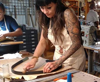 Medium leatherwork 101