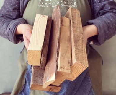 Medium wood pile