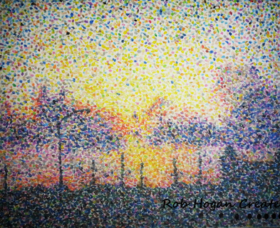Medium pointillism