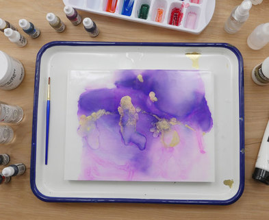 Medium alcohol ink