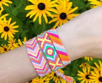 Medium the neon tea party friendship bracelet workshop