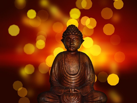 Carousel buddha buddhism statue religion 46177