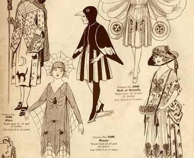 Medium vintage halloween costumes 13