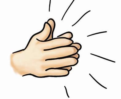Medium clapping hands 7