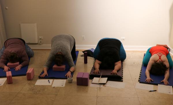 Carousel yoga class1