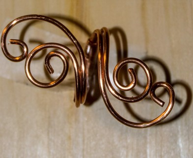 Medium spiral ring 1