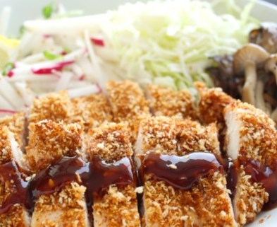 Medium chicken katsu