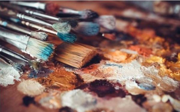 Carousel carousel paint brushes
