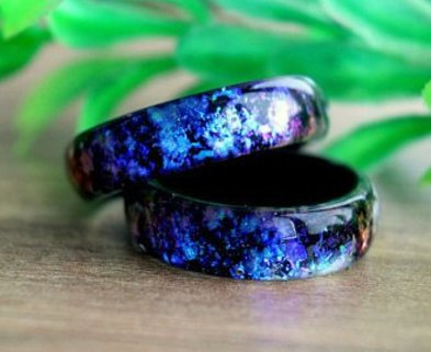 Medium resin rings