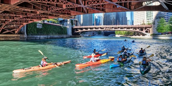 Carousel kayak outside experiences chicago dabble