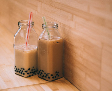 Medium bubble tea at home the works seattle dabble unsplash