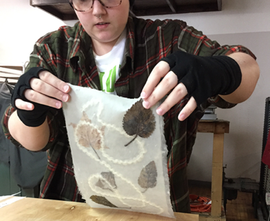 Medium papermaking person process 1