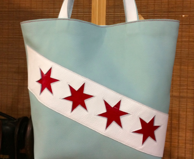 Medium beautiful bag workshop class chicago school of leatherwork shoemaking dabble