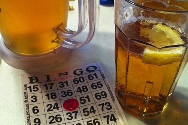 Carousel dabble beer and bingo