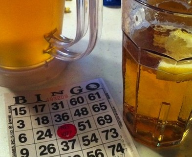 Medium dabble beer and bingo