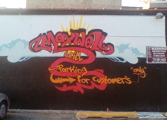 Carousel maxwell grill