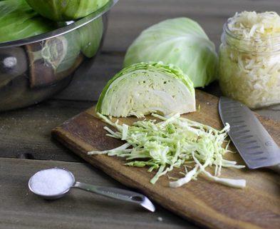 Medium sauerkraut