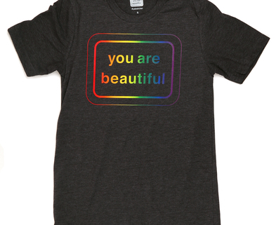 Medium yab rainbowshirt front