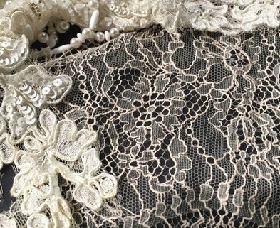 Medium creative fabric lace dabble chicago