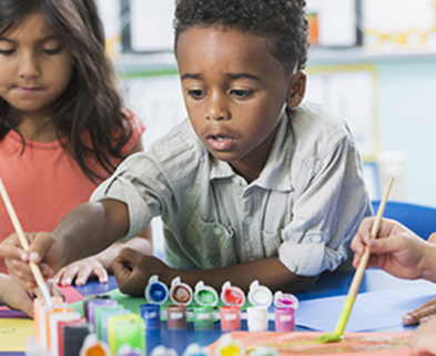 Medium kids painting