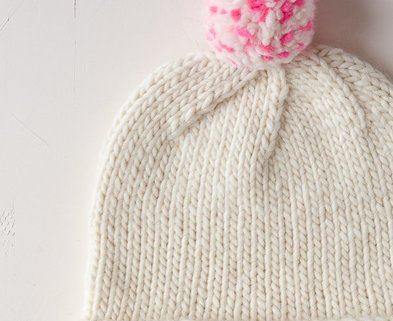 Medium speckled pom pom hat 600 36 1
